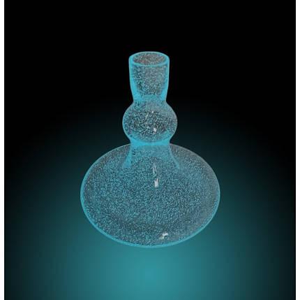 Колба Smokah Glow in the Dark(світиться в темряві) синя, фото 2