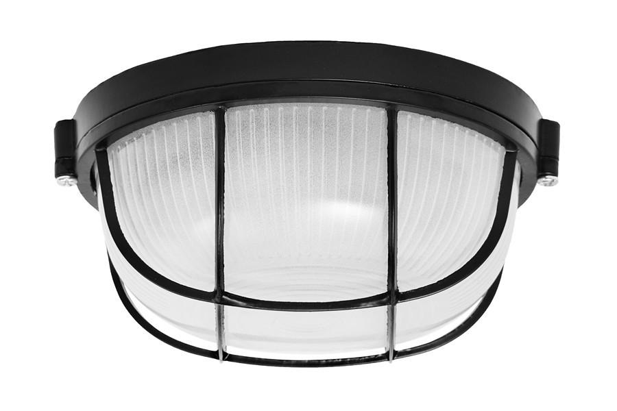 Светильник MAGNUM MIF 012 60W E27 черный с решеткой