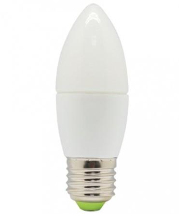 Лампа светодиодная LEDSTAR,  6W, E27, свечка 540lm, 4000К Standard