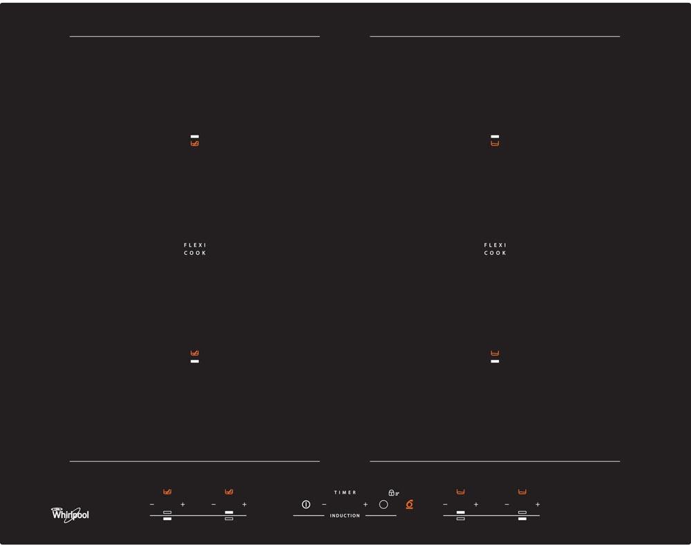 Индукционная варочная поверхность Whirlpool ACM829NE