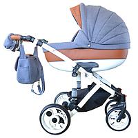 Детская универсальная коляска 2 в 1 Pearl Ajax Group (Перл, Аякс Груп)