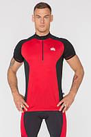 Велофутболка мужская с карманами Radical Racer SX, красная, фото 1