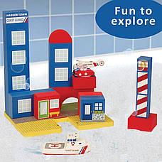 Плавающие блоки для ванной Just Think Toys Береговая охрана (22087), фото 3