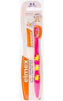 Детская зубная щетка Elmex Kinder + зубная паста Kinder 0-3лет 12мл