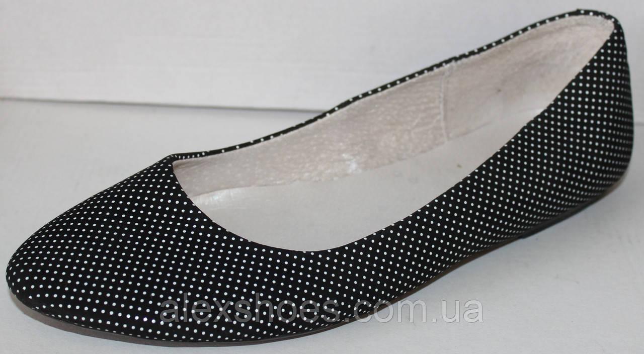 Балетки женские из натуральной кожи от производителя модель ЛЕ104