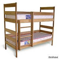 Кровать 2-х ярусная Ясная 800х1900 бук (Олимп)