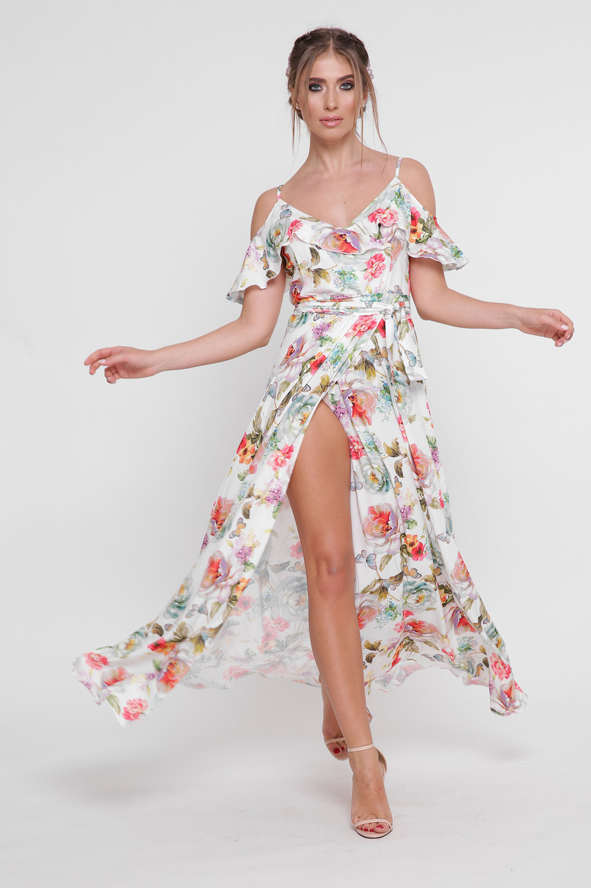 Платье  летнее в пол «Фёкла»