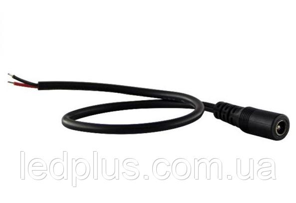 """Коннектор DC5.5*2.1F """"мама"""" с проводами"""