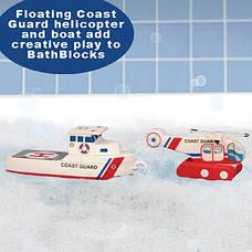 Плавающие блоки для ваннойJust Think Toys Лодка и вертолет (22091), фото 3