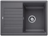 Гранитная мойка  Blanco ZIA 45 S Compact SILGRANIT PuraDur® темная скала