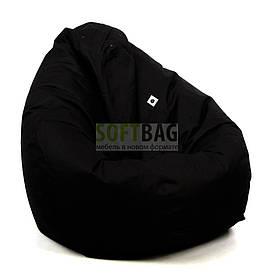 Кресло мешок груша XXL   ткань Oxford Черный