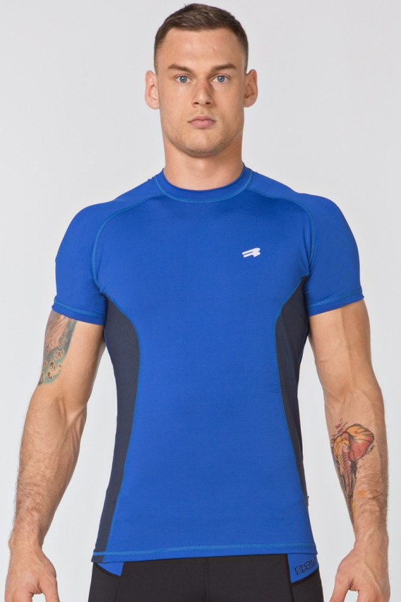 Футболка мужская спортивная Radical Fury Duo SS, синяя