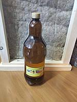 Льняное масло 2 л бутылка с воском для пропитки дерева, фото 1