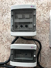 Шкафы защиты солнечной электростанции.