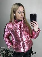 Куртка женская весенняя короткая , фото 1