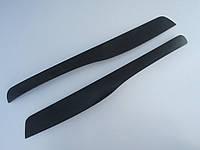 Ресницы на автомобильные фары Шкода Суперб 2001-2008 Spirit. Тюнинговые накладки на фары Skoda Superb