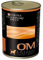 PVD OM Консервы для собак от ожирения 400г