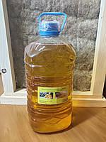 Льняное масло 5 л канистра с воском для пропитки дерева