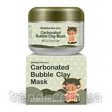 Знаменитая кислородная маска для лица Carbonated Bubble Clay Mask