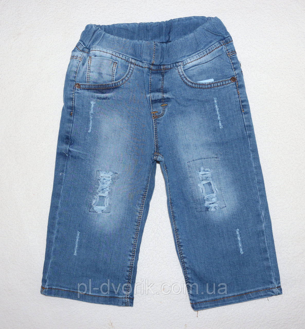 Джинсовые шорты на мальчика 8,9,10,11,12 лет
