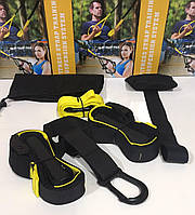 Подвесной фитнесс-тренажер  Fitness Strap Training (тренировочные петли)