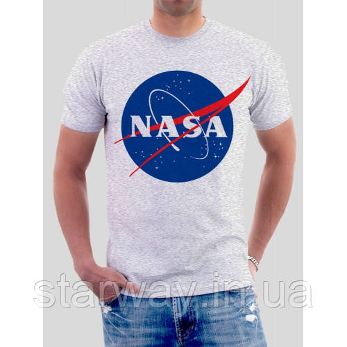 Футболка топ | Nasa logo | best shop