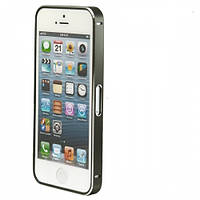 Чехол Bumper Metalic Slim iPhone 4 Black