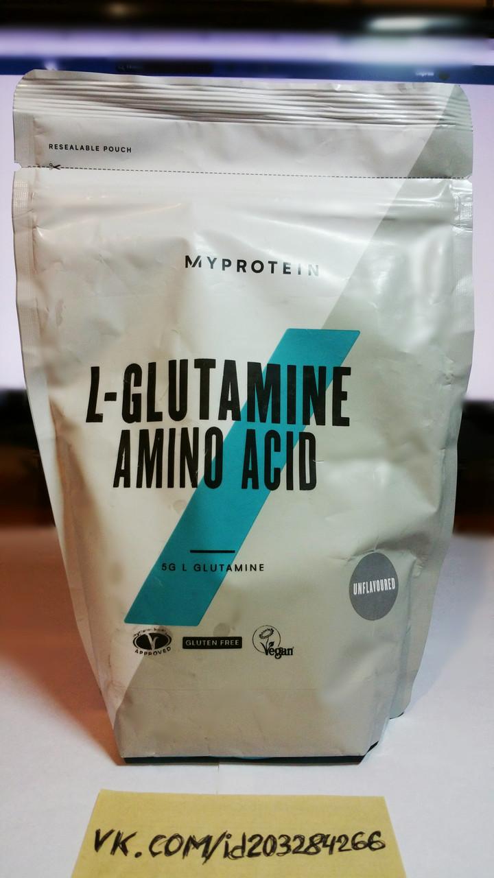 Глютамин, MyProtein L-Glutamine 500г