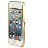 Чехол Bumper Metalic Slim iPhone 4 Gold