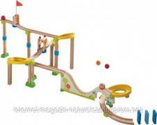 Большой деревянный детский кегельбан Haba Rollerby, фото 2
