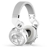 Наушники беспроводные Bluedio T2S с микрофоном (белые)