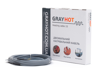 Теплый пол gray hot (Кабель) 0,9 кв.м, фото 2