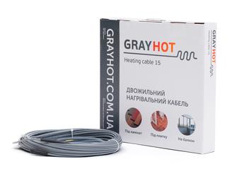 Тепла підлога gray hot (Кабель) 1.9 кв. м
