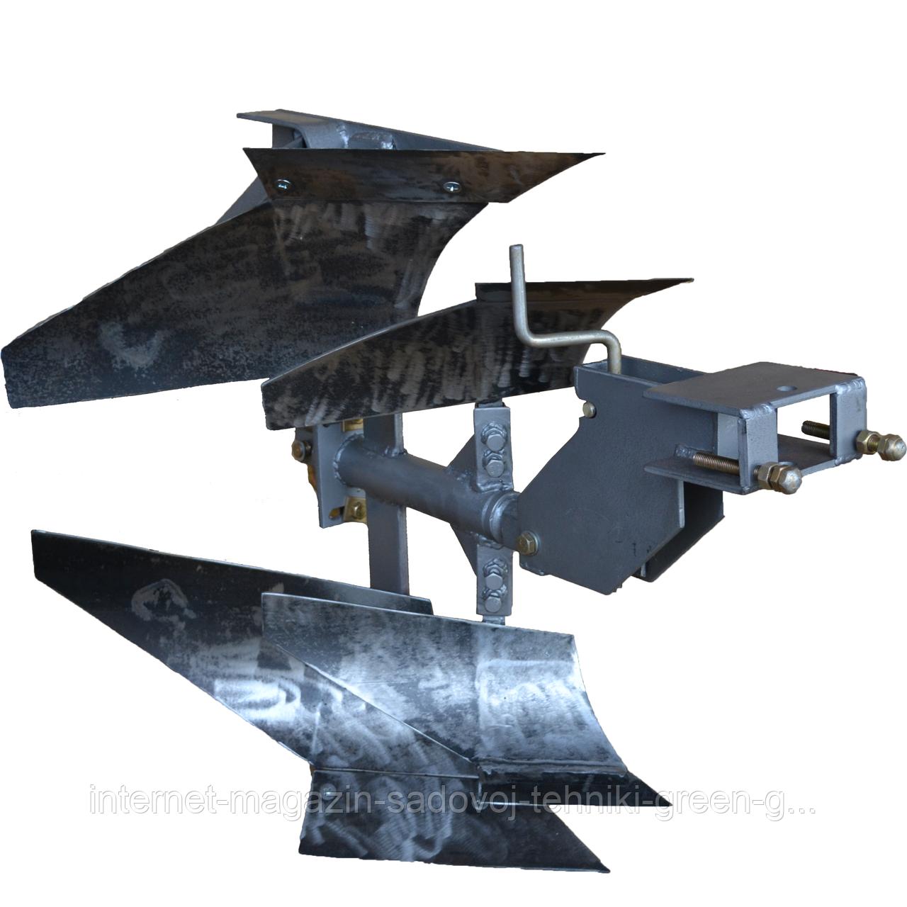 Плуг оборотный с предплужником Мотор Сич ПО-1В (AMG) для мотоблока