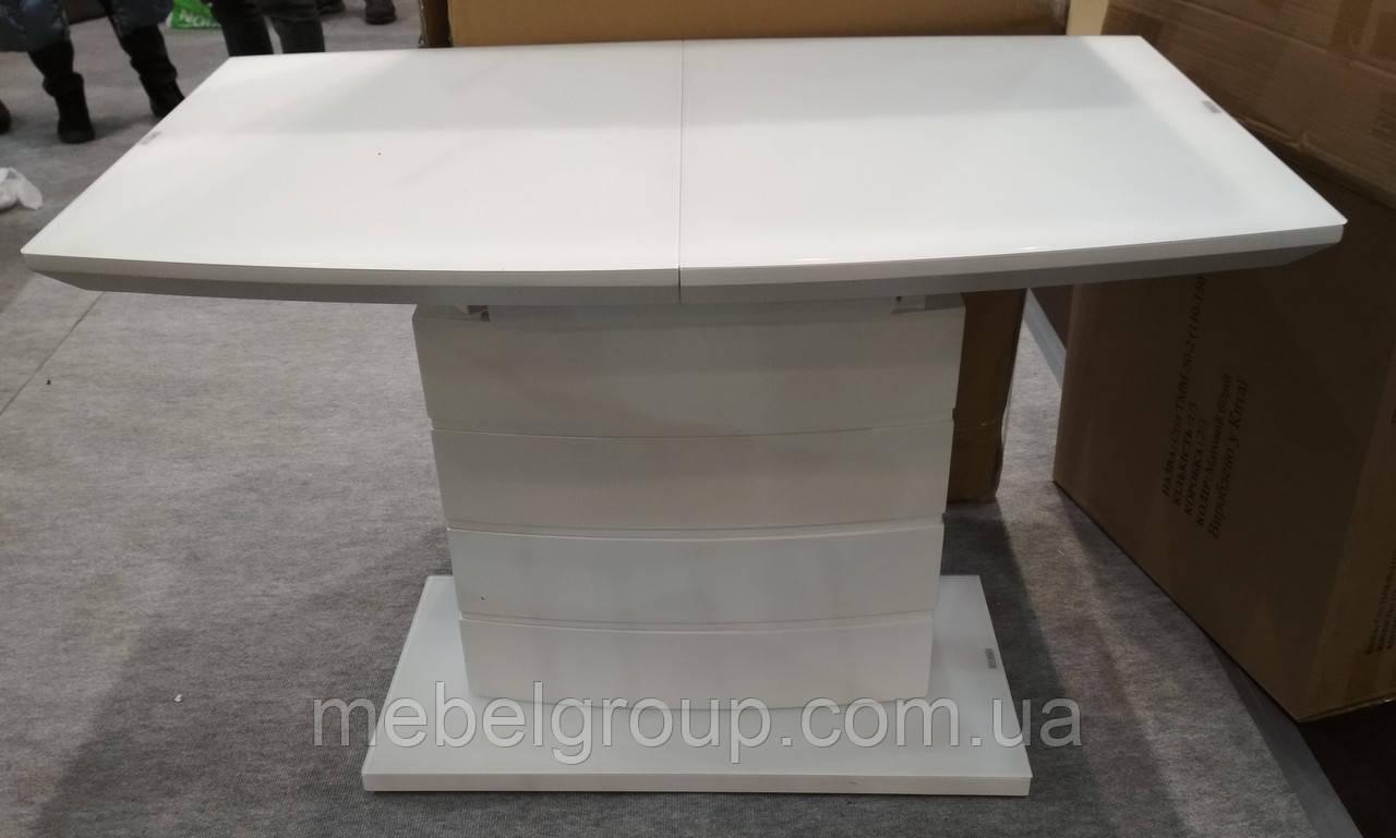 Стол ТММ-50-2 матовый белый 110/150x70
