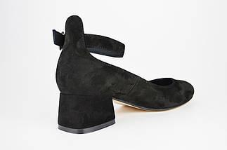 Класичні чорні туфлі на невисокому каблуці Nivelle 1921 36 розмір, 23,5 см, фото 2