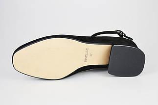 Класичні чорні туфлі на невисокому каблуці Nivelle 1921 36 розмір, 23,5 см, фото 3