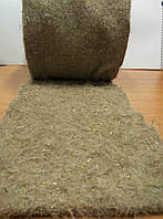 Льняное нетканное полотно плотность 700 г/м2 длина 25 м ширина 1.8 м рулон 45 м2