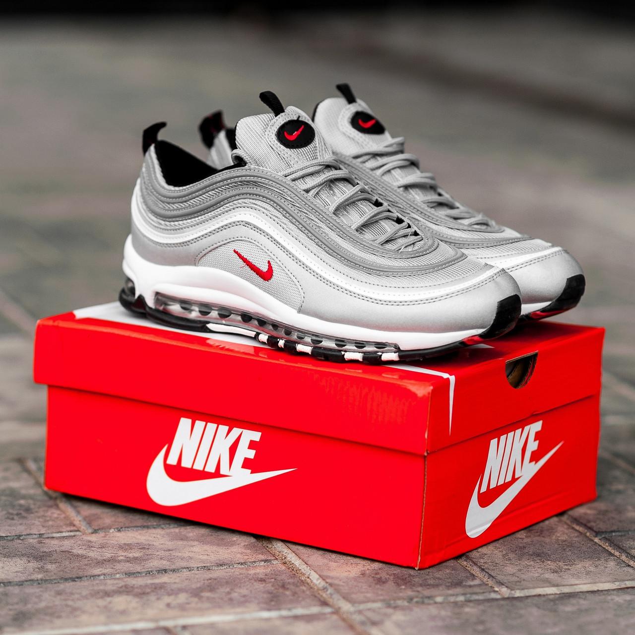 d619903b Мужские кроссовки Nike Air Max 97 Grey - Интернет магазин
