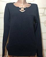 Джемпер женский размер 50 кашемировый черный