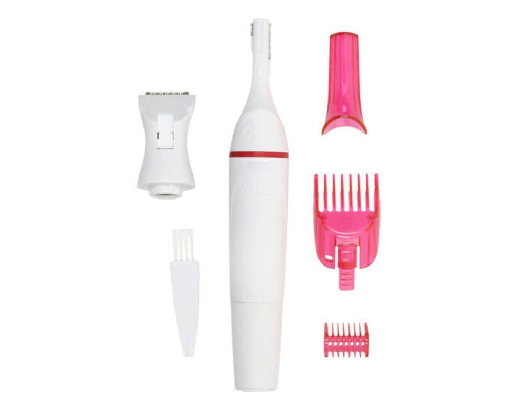Триммер Sweet Sensitive Precision H0177 универсальный женский 3 насадки для гигиены зоны бикини и лица