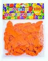 Шар 100шт 701621 Оранжевый стандарт 13см