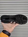 Мужские кроссовки Adidas ClimaCool Black. Живое фото (Реплика ААА+), фото 4