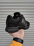 Мужские кроссовки Adidas ClimaCool Black. Живое фото (Реплика ААА+), фото 3