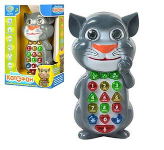 """Умный телефон """"Кот Том"""" 7344, на украинском языке"""