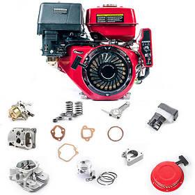 Запчасти на двигатели для мотопомп и генераторов