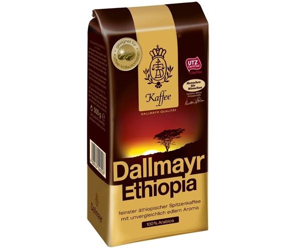 Кофе DALLMAYR Ethiopia в зернах 500 г