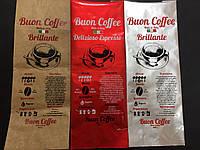 Трафаретная печать по пакетам для кофе