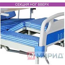 Медицинская кровать с туалетом. Функциональная кровать. Кровать для реабилитации. Для инвалида., фото 3