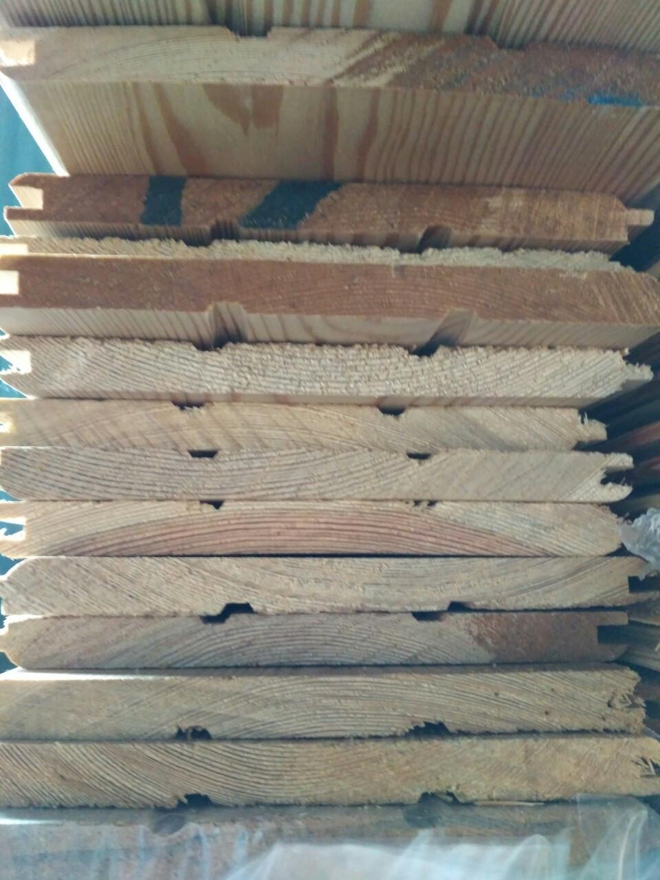 Вагонка деревянная Лиственница 14х165 Сорт Экстра